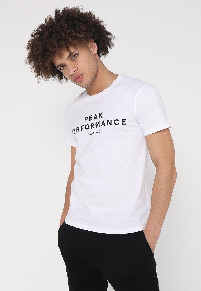 Peak Performance - TEE - T-Shirt print - white