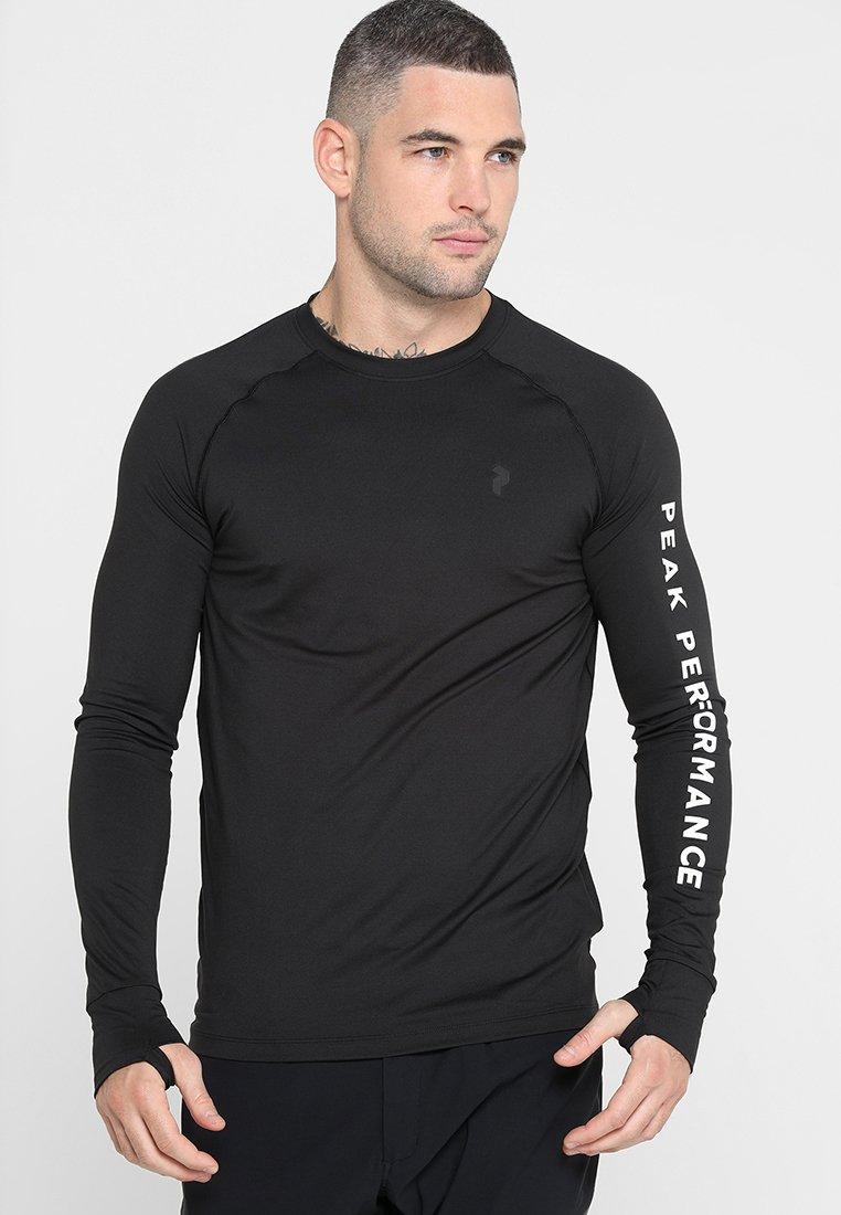 Peak Performance - SPIRIT  - Langarmshirt - black