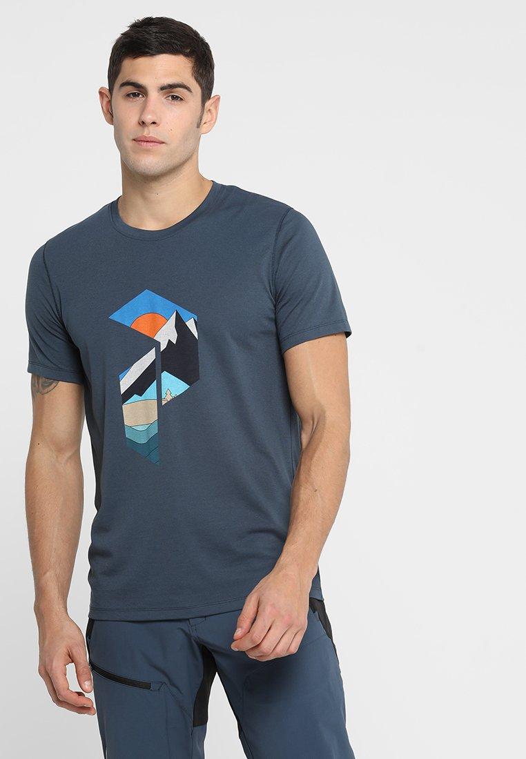 Peak Performance - T-Shirt print - blue steel