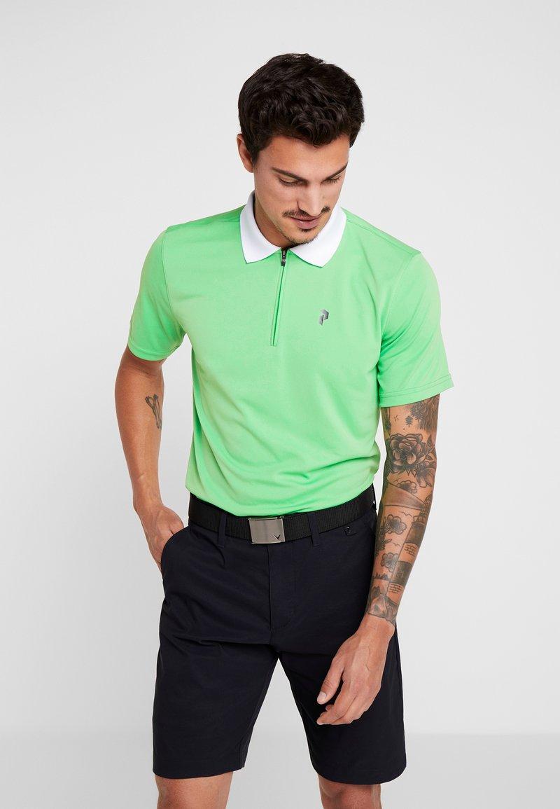 Peak Performance - MAJORPO - Poloshirt - vibe green