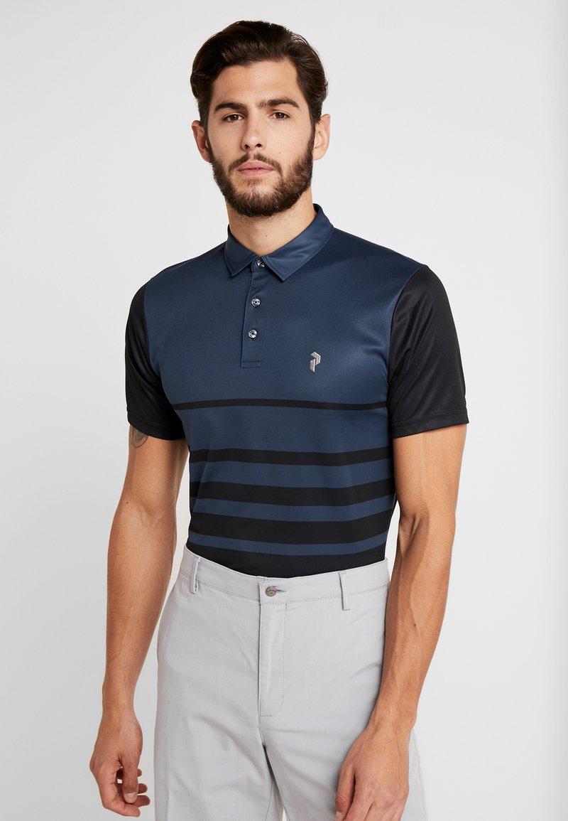 Peak Performance - BANDONPRPO - Polo shirt - blue steel