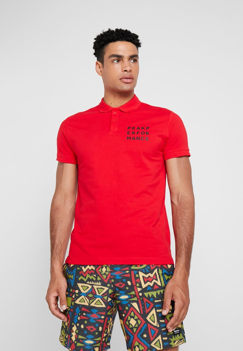 Peak Performance - GROUND  - Poloshirt - chinese red