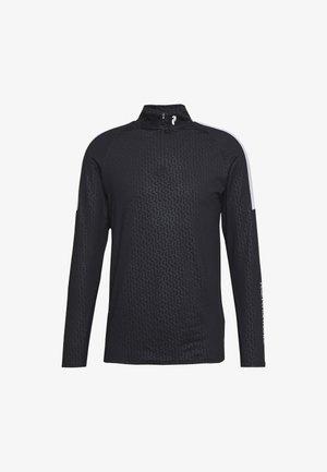 BASE - Bluzka z długim rękawem - black