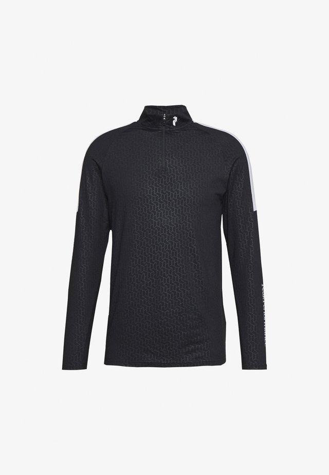 BASE - T-shirt à manches longues - black