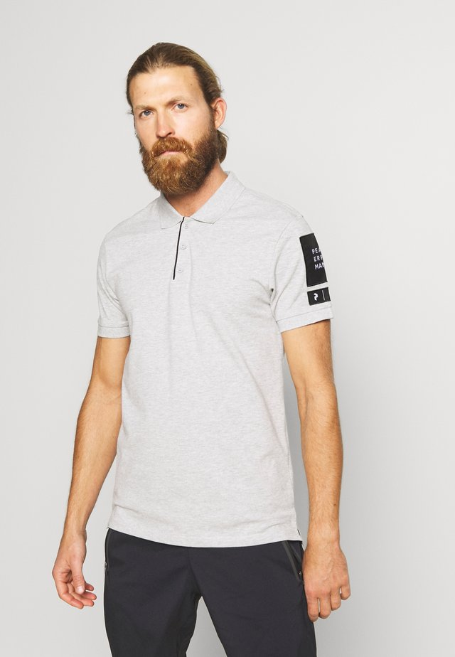 TECH - Polo shirt - med grey mel