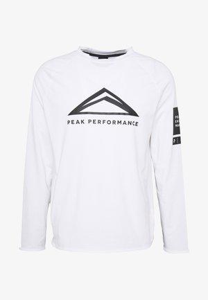 2.0 TECH  - T-shirt à manches longues - white