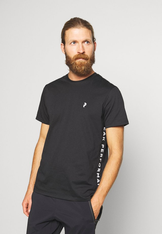 RIDER TEE - Print T-shirt - black