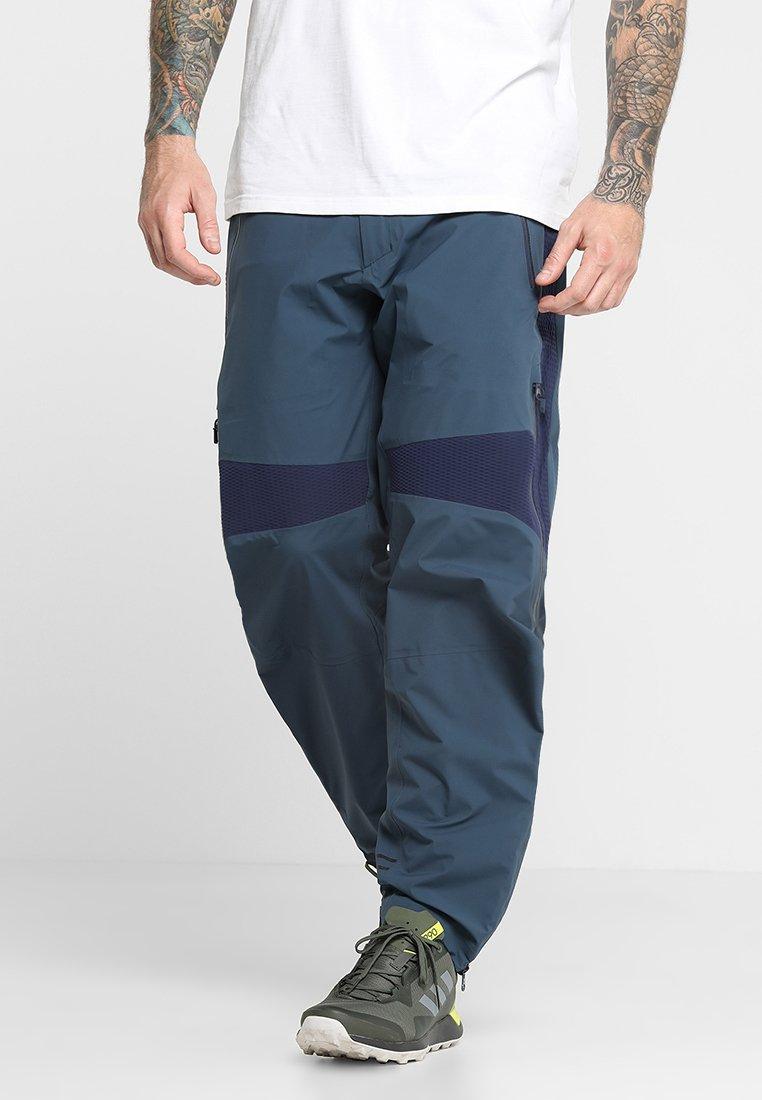 Peak Performance - Pantalones montañeros largos - blue steel