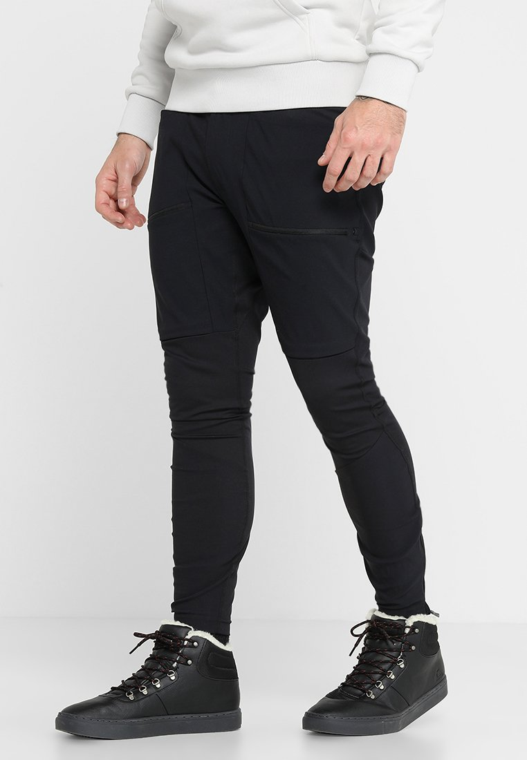 Peak Performance - TRACK - Pantalones montañeros largos - black
