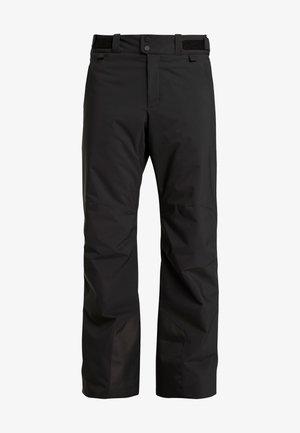 MAROON - Snow pants - black