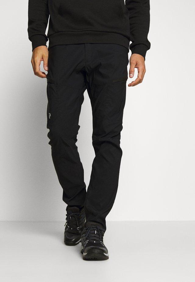 ICONIQ CARGO PANT - Outdoorbroeken - black