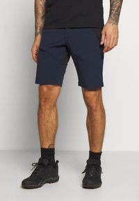 Peak Performance - LIGHT CARBON - Shorts - blue shadow - 0