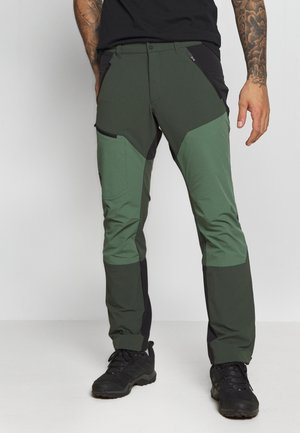 LIGHT CARBON PANTS - Pantalones montañeros largos - drift green