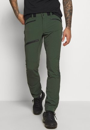 LIGHT SOFTSHELL PANTS - Długie spodnie trekkingowe - drift green
