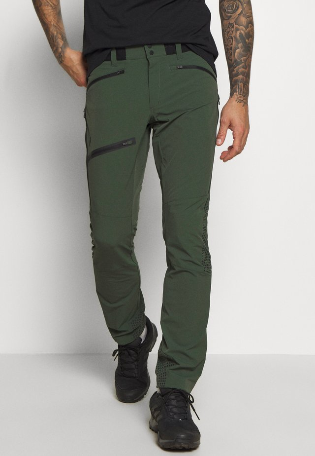 LIGHT SOFTSHELL PANTS - Outdoor trousers - drift green