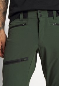 Peak Performance - LIGHT SOFTSHELL PANTS - Pantalones montañeros largos - drift green - 3