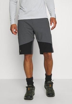 ECLECTIC LONG - Pantalones montañeros cortos - deep earth