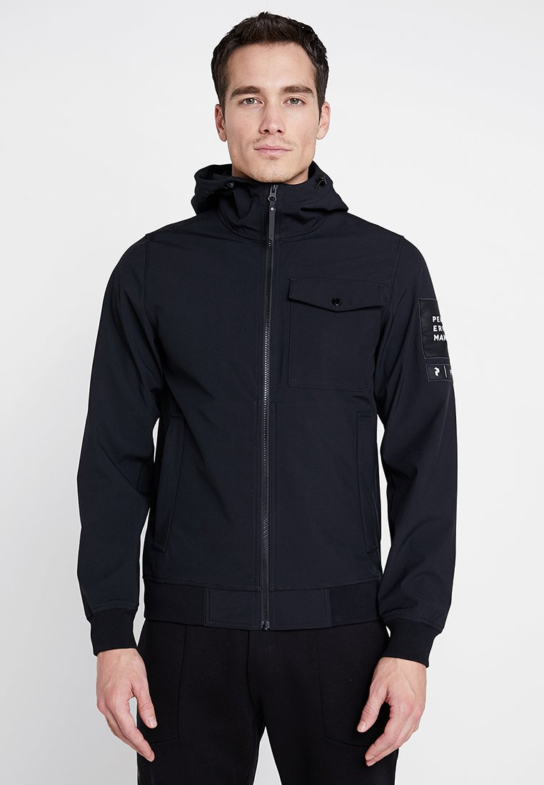 Peak Performance - Softshelljacke - black