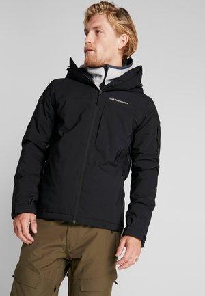 MAROON - Ski jacket - black