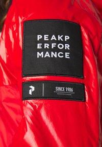 Peak Performance - SEEON - Veste coupe-vent - vibrant red - 5