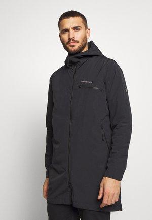 SAPPHIRE LIGHT JACKET - Hardshellová bunda - black
