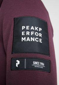 Peak Performance - TECH  - Sweat à capuche - mahogany - 6