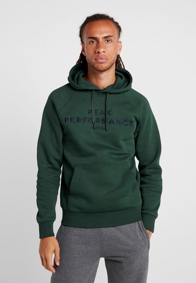 Peak Performance - Kapuzenpullover - scarab green