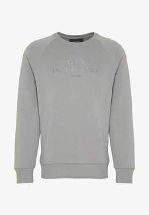 ORIGINAL CREW - Sweatshirt - soud mist