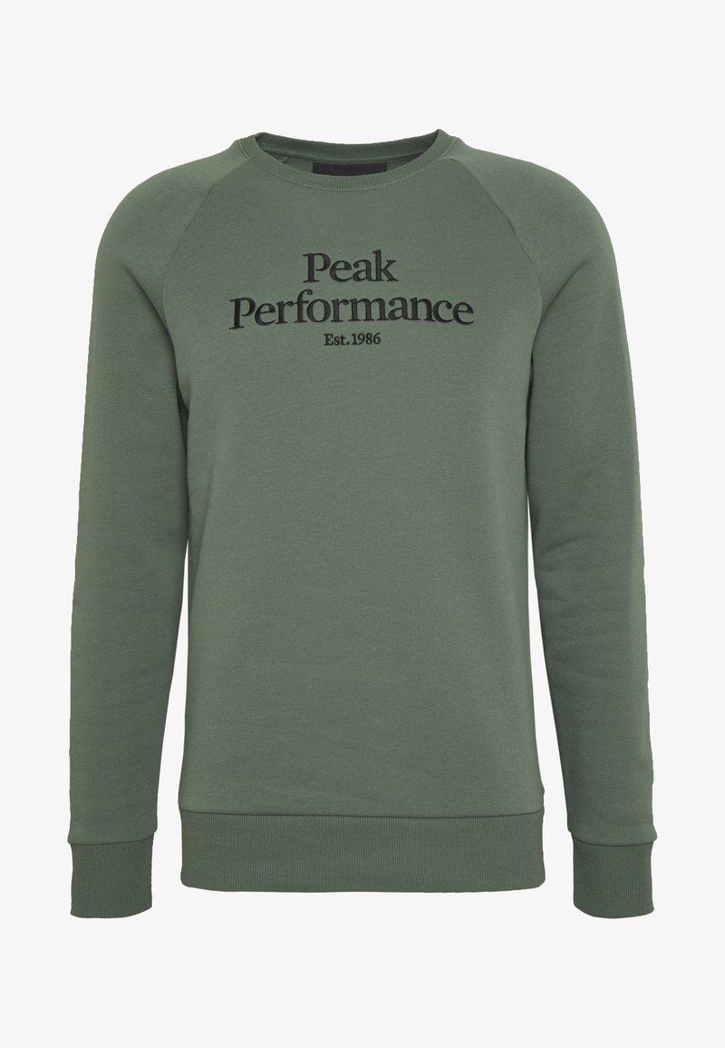 Peak Performance ORIGINAL CREW - Sweatshirt - alpine tundra