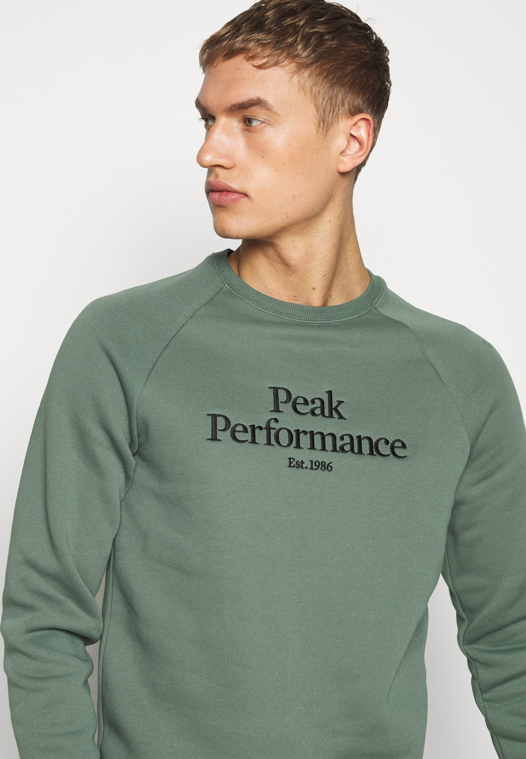 Peak Performance ORIGINAL CREW - Bluza - alpine tundra