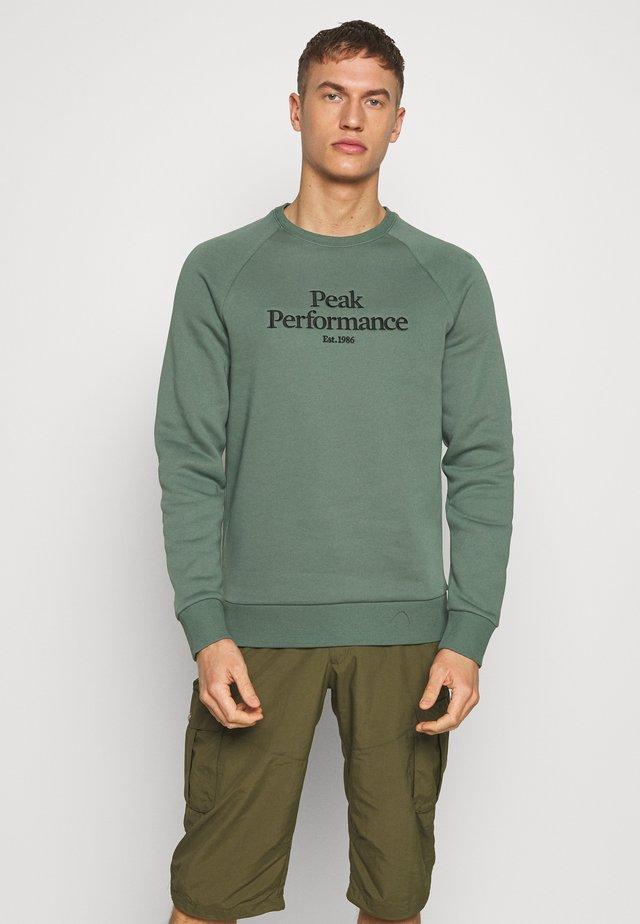 ORIGINAL CREW - Sweatshirt - alpine tundra