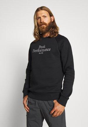ORIGINAL CREW - Sweatshirt - black