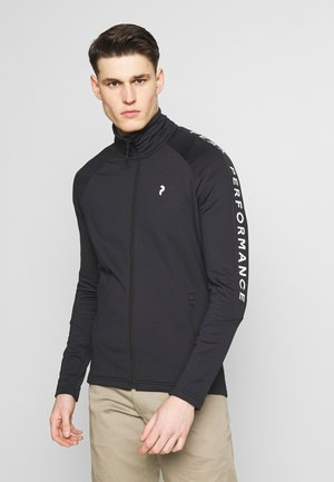 RIDER ZIP JACKET - Fleecová bunda - black