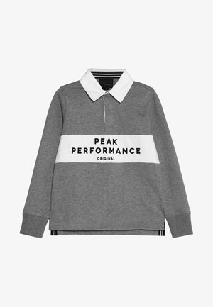 RUGBY - Polo - grey melange