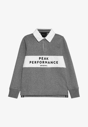 RUGBY - Polo shirt - grey melange
