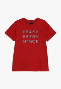 Peak Performance - GROUN - Camiseta estampada - dark chilli - 0