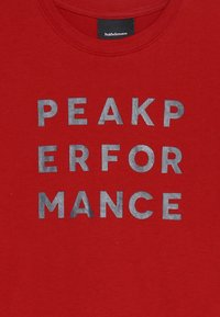 Peak Performance - GROUN - Camiseta estampada - dark chilli - 3
