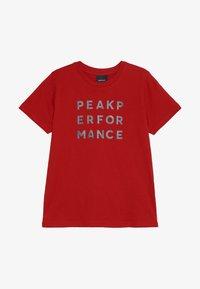 Peak Performance - GROUN - Camiseta estampada - dark chilli - 2