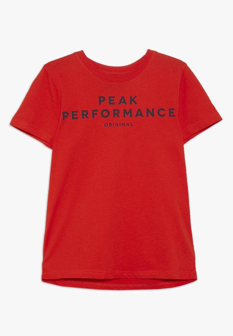 Peak Performance - T-shirt print - dynared