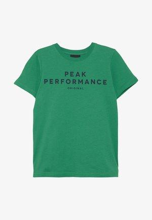 T-shirt med print - jelly bean