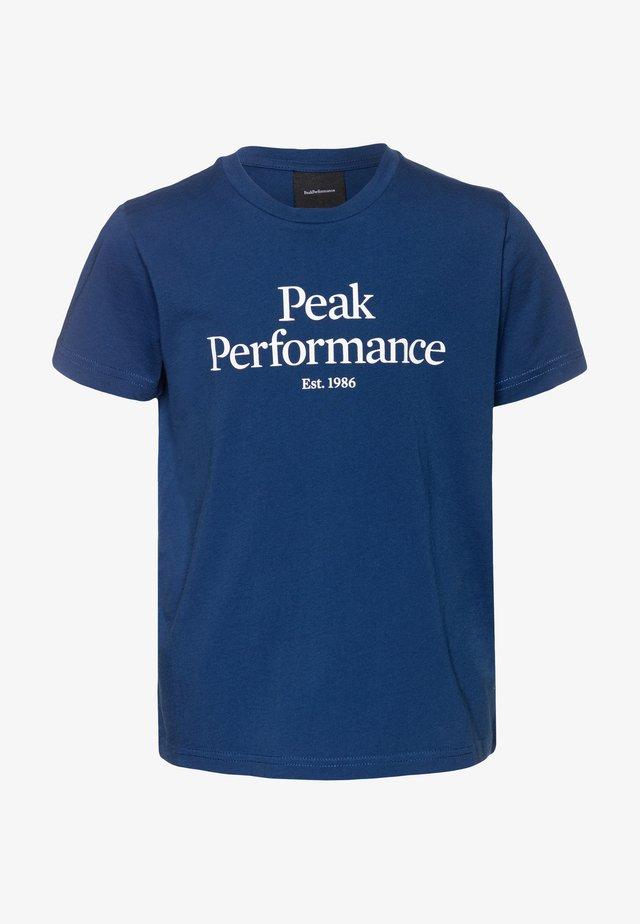 ORIGINAL TEE - T-shirts print - cimmerian blue