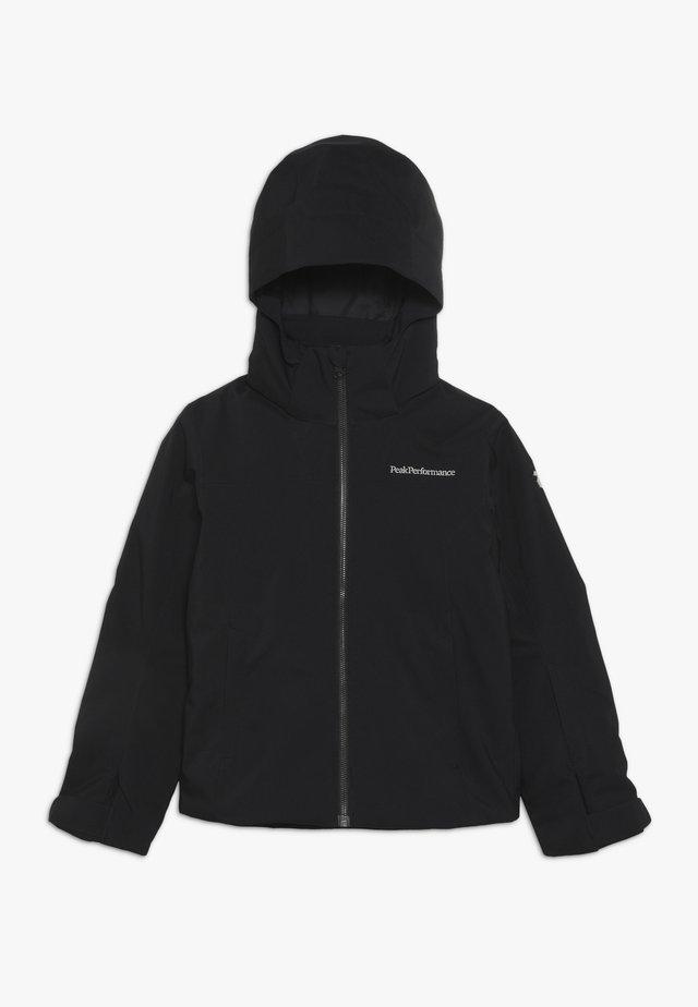 LANZO - Lyžařská bunda - black