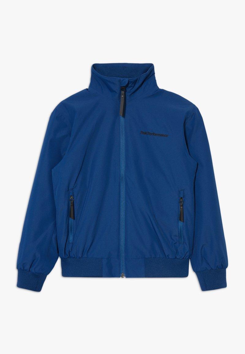 Peak Performance - JR COASTAL - Outdoorová bunda - cimmerian blue