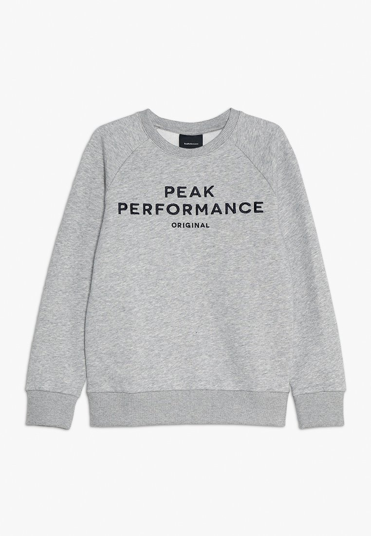 Peak Performance - Sweatshirt - medium grey melange