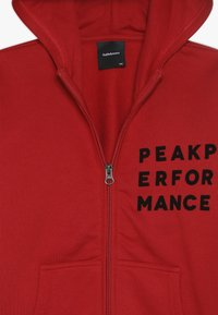 Peak Performance - veste en sweat zippée - dark chilli - 4