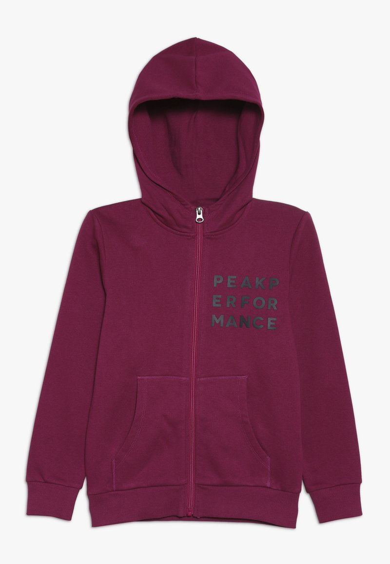Peak Performance - Zip-up hoodie - pink caramel