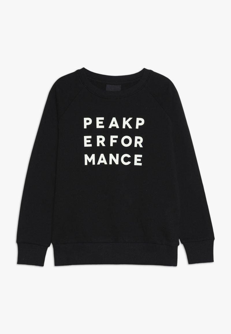 Peak Performance - Sweater - black