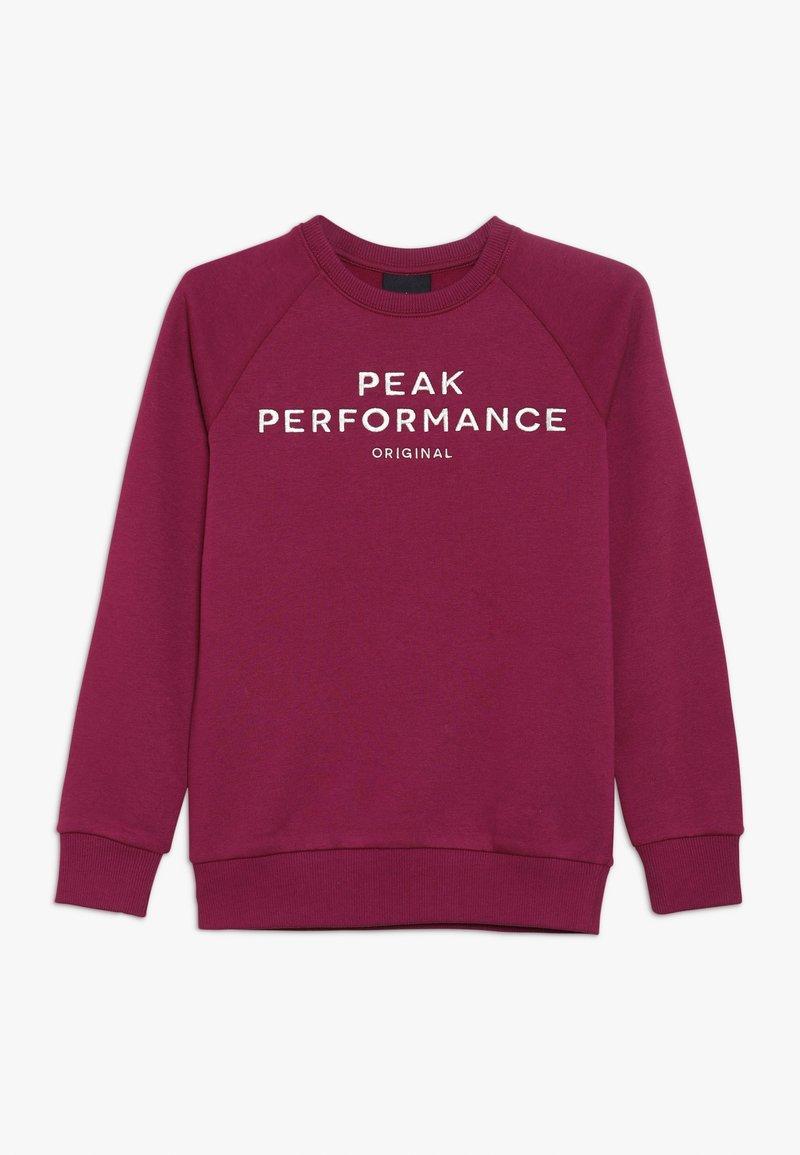 Peak Performance - Collegepaita - pink caramel
