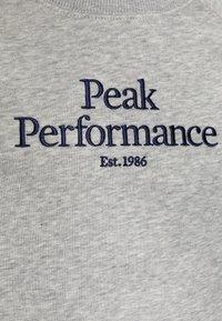 Peak Performance - ORIGINAL CREW - Mikina - medium grey melange - 2