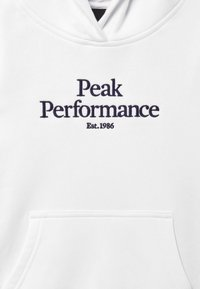Peak Performance - ORIGINAL HOOD - Sweat à capuche - white - 3